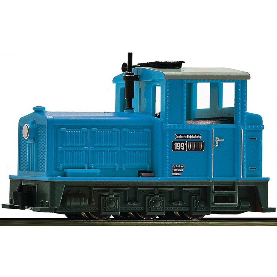 ROCO - 33204 - Diesel loco cl. 199 ep.III-IV DR HOe scale
