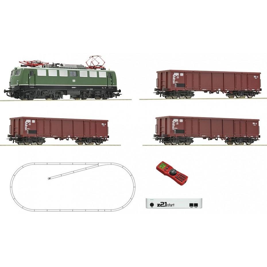 ROCO - 51330 - z21 start digital set: Electric locomotive DB ep.IV (HO SCALE)
