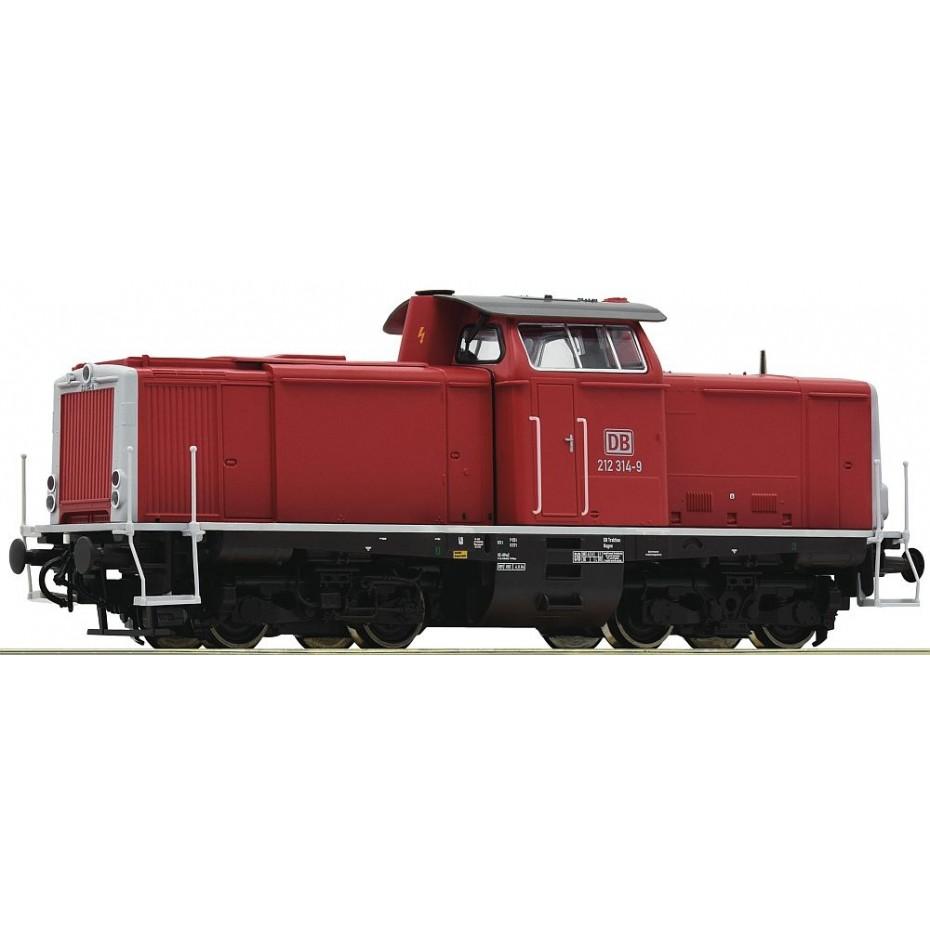 ROCO - 52525 - BR 212 Diesel HO Sound Locomotive