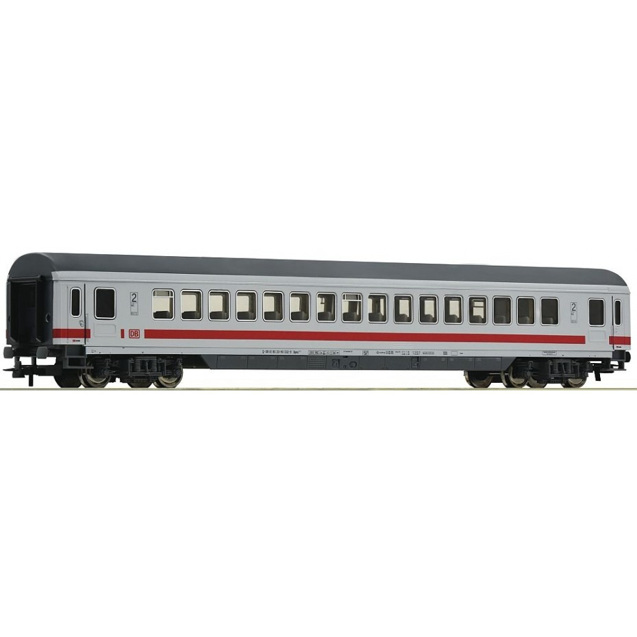 Roco - 54161 - 2nd class IC open seating coach DB-AG ep.VI HO Scale