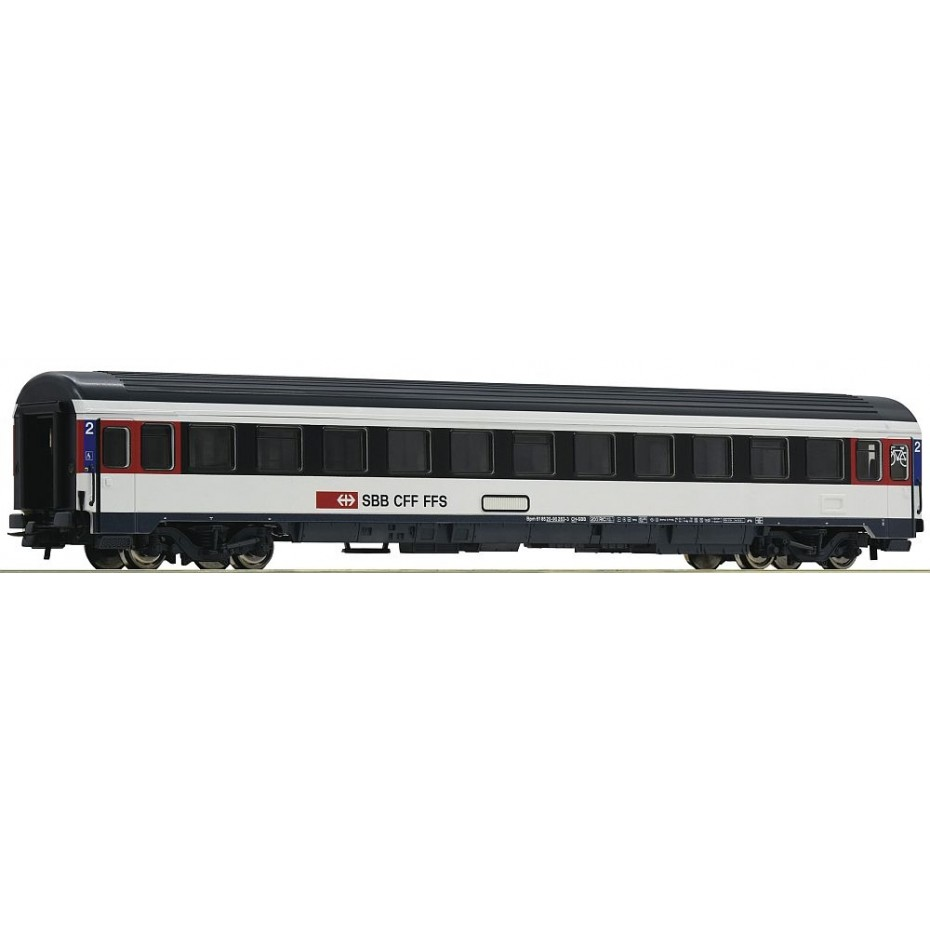 Roco - 54167 - 2nd class Eurocity compartment coach SBB ep.VI HO Scale