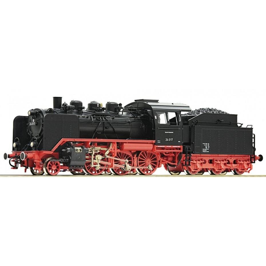 Roco - 62215 - Steam locomotive 24 017 DB ep.III HO Scale