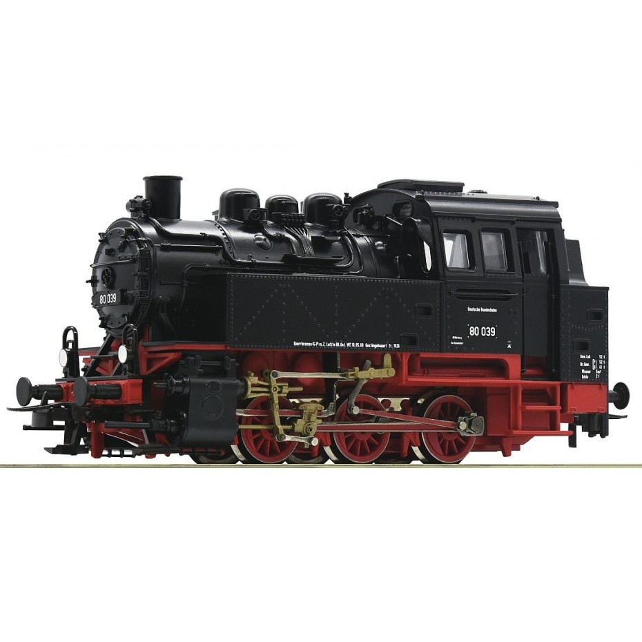 ROCO - 63338 - Steam loco BR80, DB DB - Ep III - HO