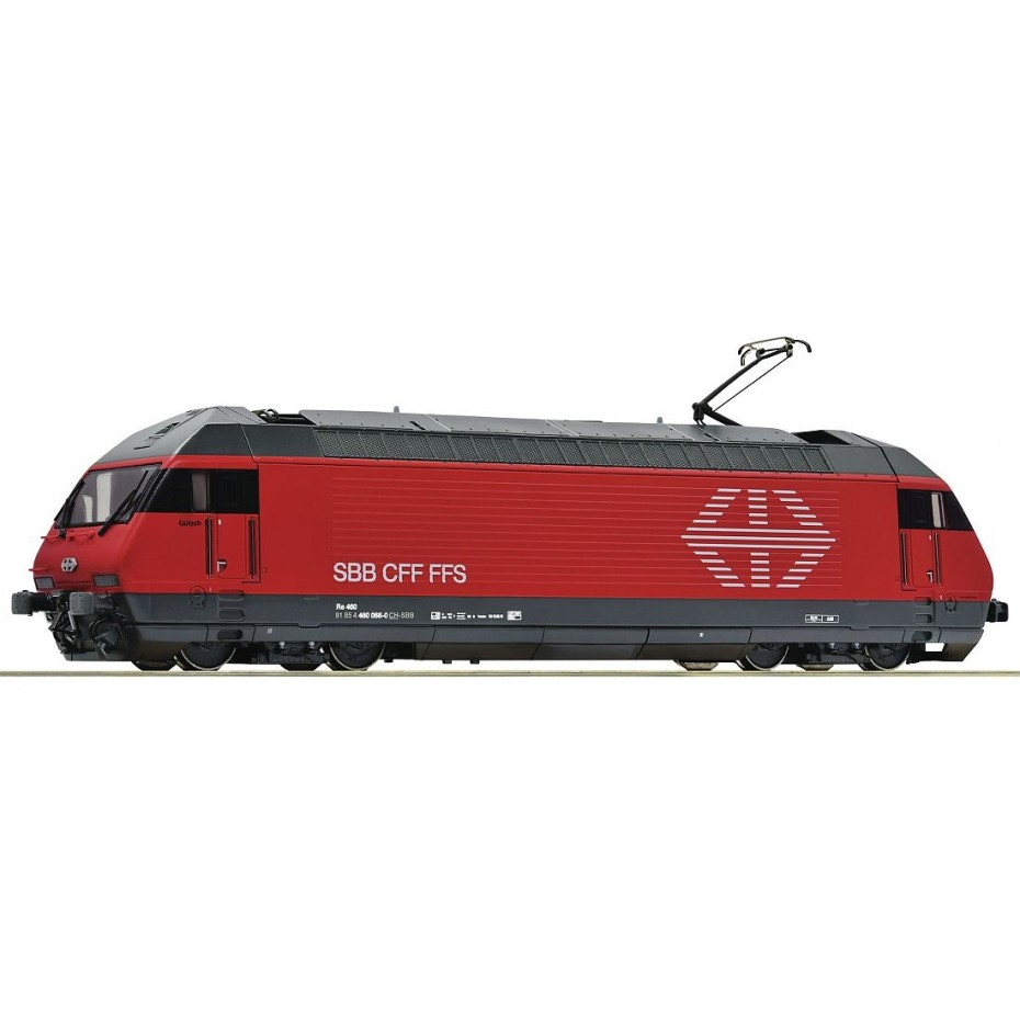 ROCO - 70661 - Electric locomotive 460 0 68-0 SBB ep.VI (HO SCALE)