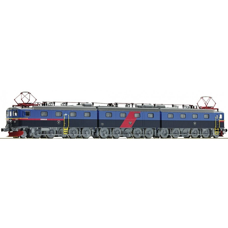 ROCO - 72647 - Electric locomotive Dm3 SJ blue SJ - Ep V - HO