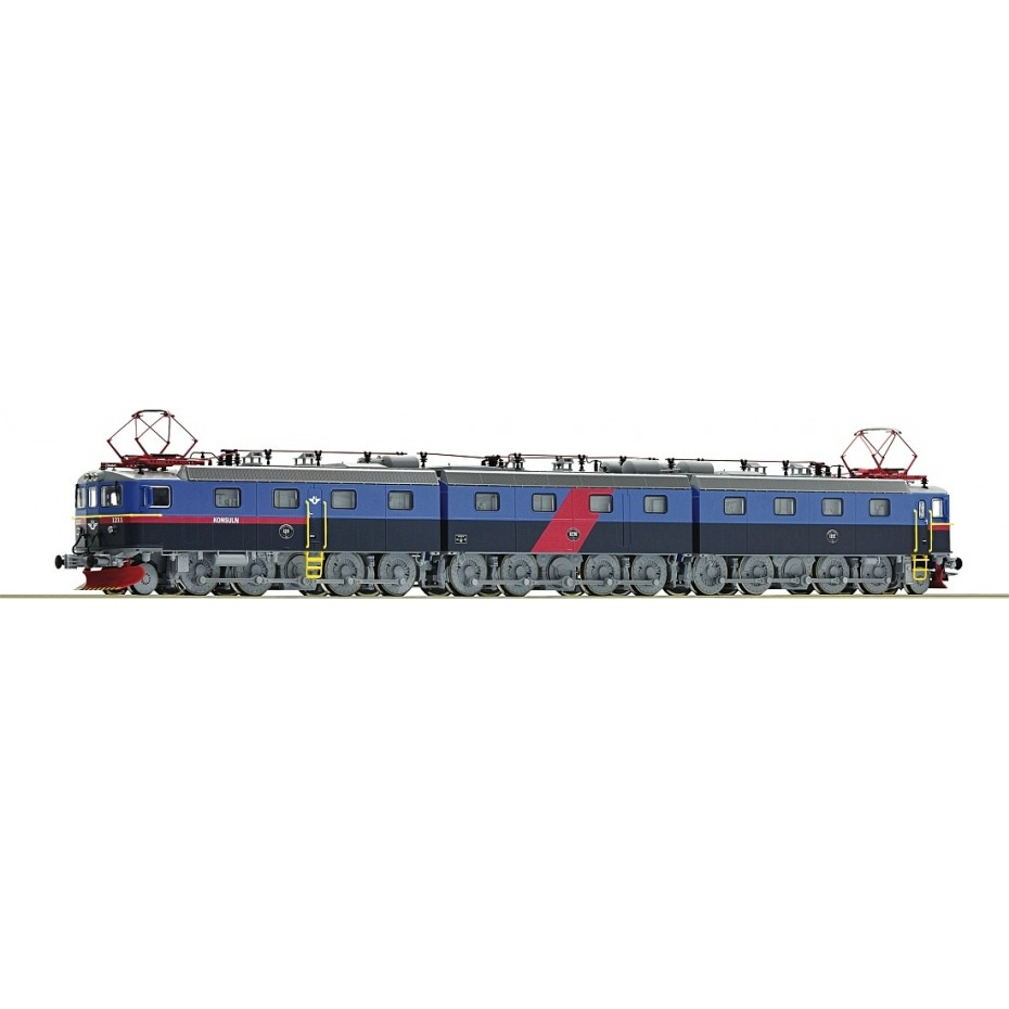 ROCO - 72648 - Electric locomotive Dm3 SJ blue DCC Sound. SJ - Ep V - HO