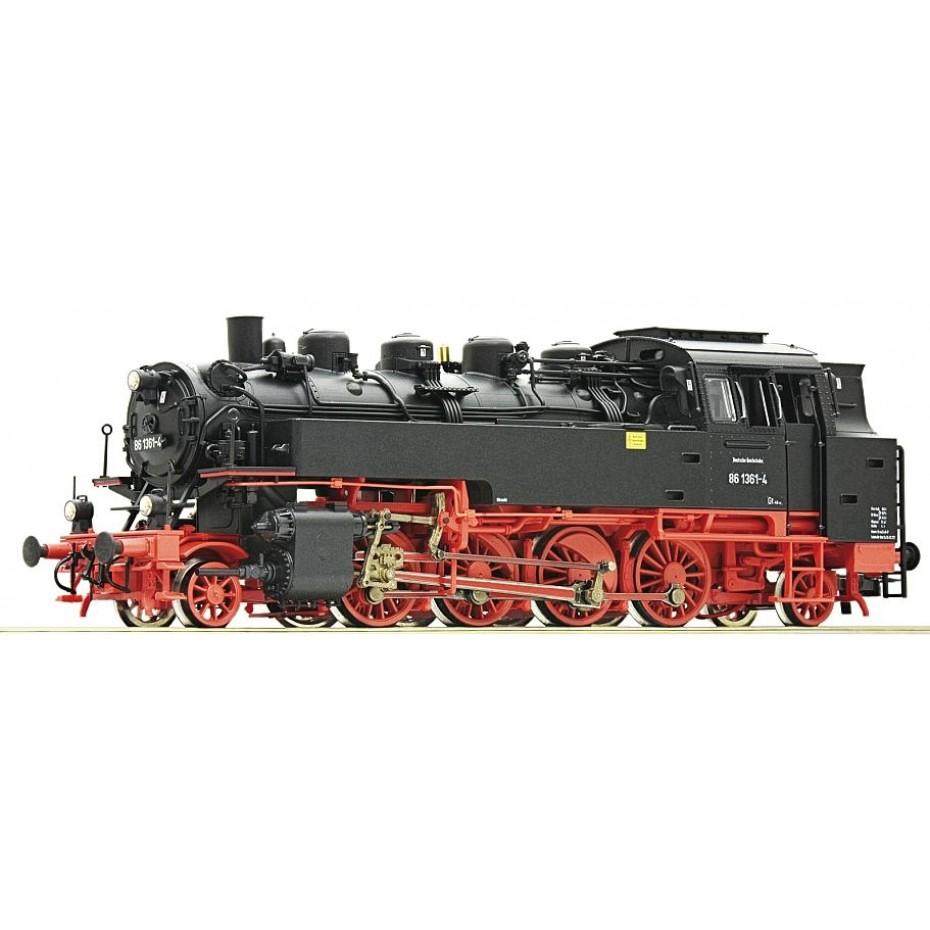 ROCO - 73033 - Steam locomotive 86 1361- 4 DR ep.IV (HO SCALE)