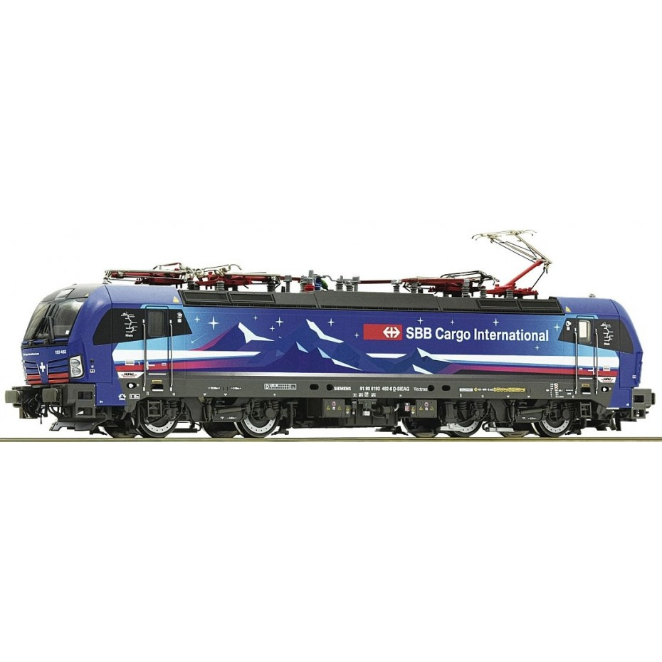 ROCO - 73117 - Electric locomotive Re 193 HupacSBB HUPAC Ep. VI DCC SOUND H0 358mm Radius