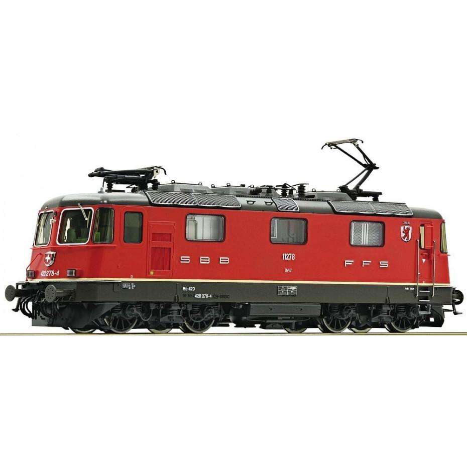 ROCO - 73259 - electric loco 420 278-4 SBB ep.VI SBB HO scale