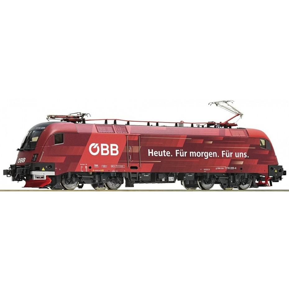 Roco - 73267 - Electric locomotive 1116 225-4 ÖBB ep.VI HO Scale DCC SOUND
