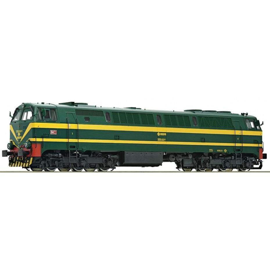 Roco - 73703 - Diesel locomotive class 333 Renfe ep.IV HO Scale DCC SOUND
