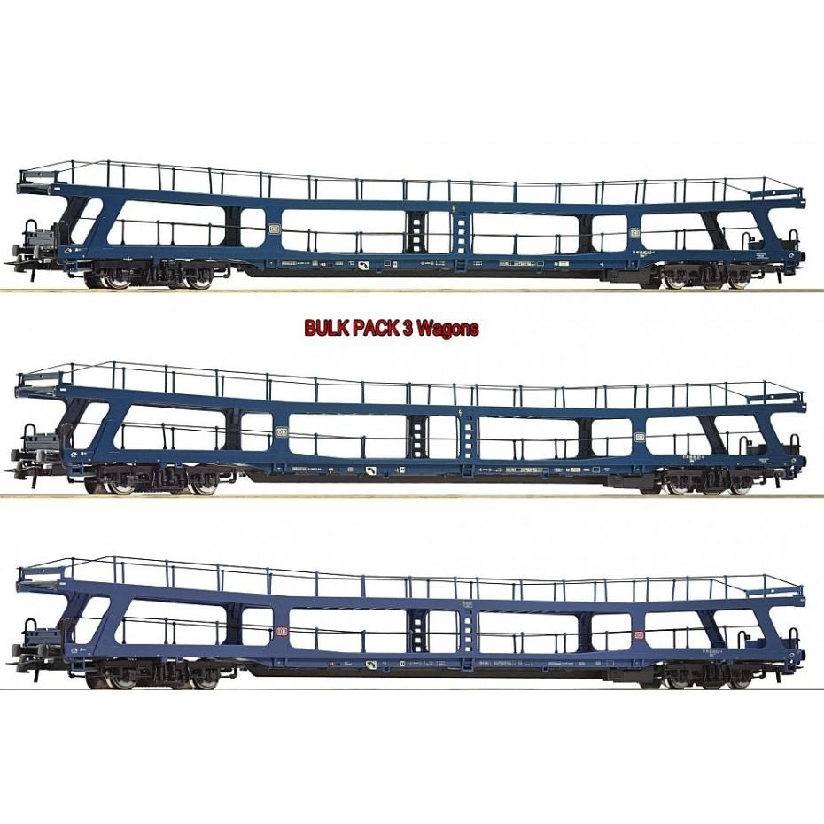 Roco - 74097 - 3 piece set 3: Motorail train Christoforus-Express DB ep.IV HO Scale