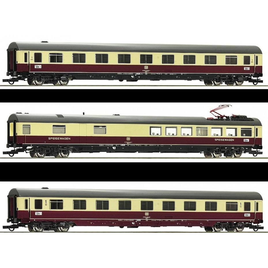 ROCO - 74122 - TEE Passenger Coaches Erasmus #1 DB - Ep IV - HO