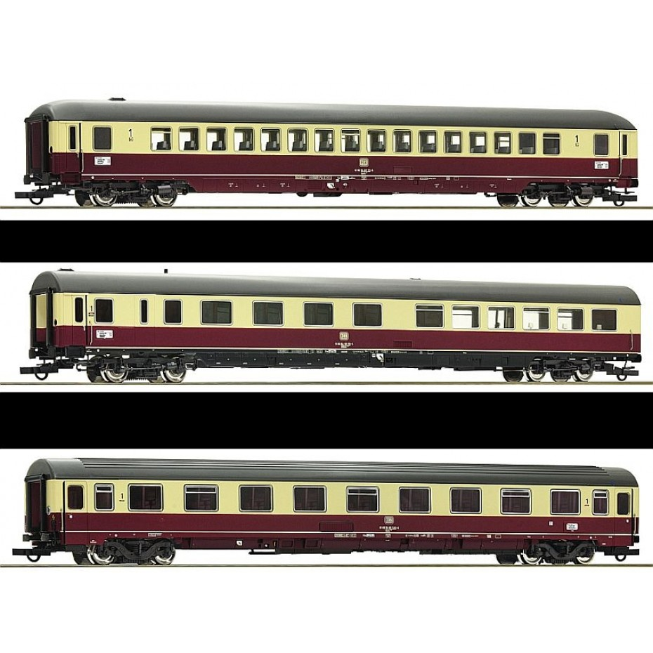 ROCO - 74123 - TEE Passenger Coaches Erasmus #2 DB - Ep IV - HO