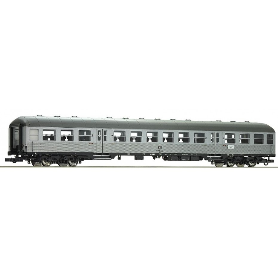 ROCO - 74589 - 2nd class commuter coach DB ep.IV (HO SCALE)