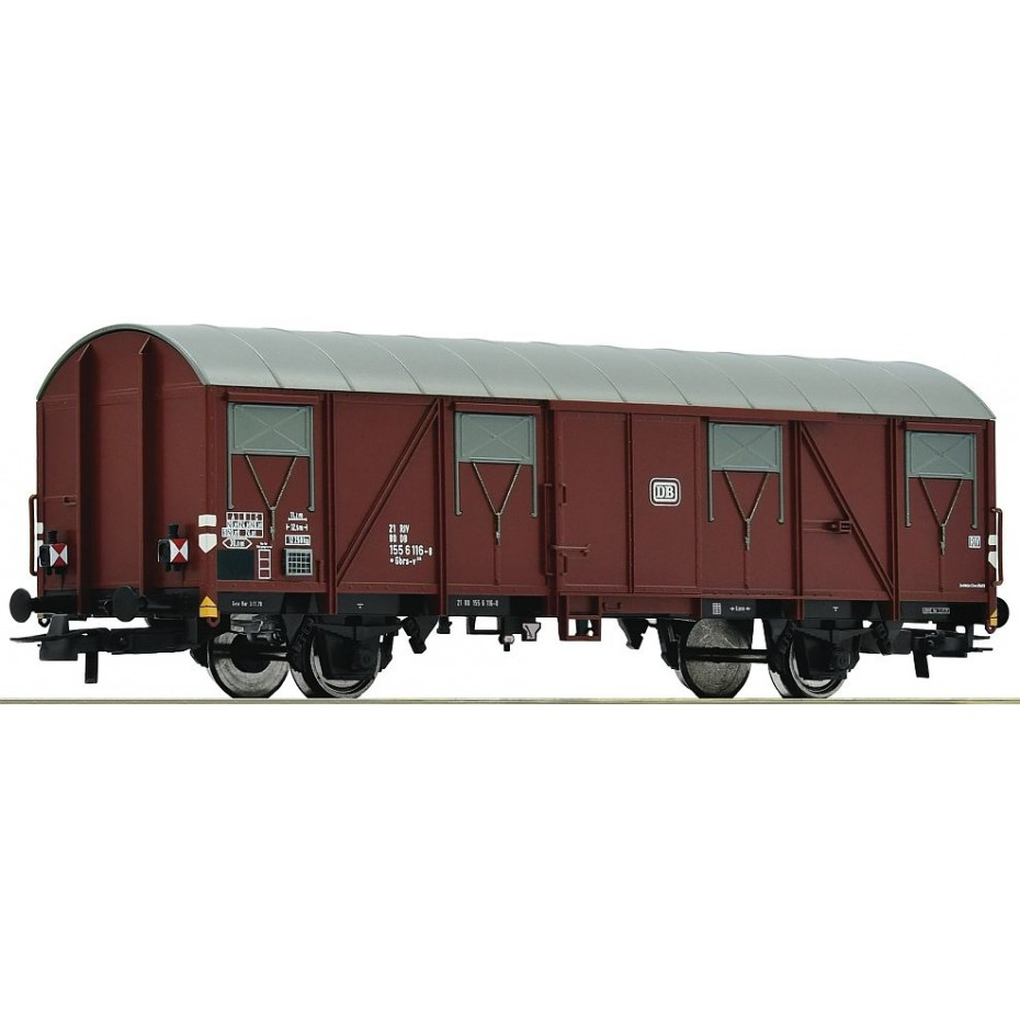 ROCO - 76615 - Covered goods wagon DB ep.IV (HO SCALE)