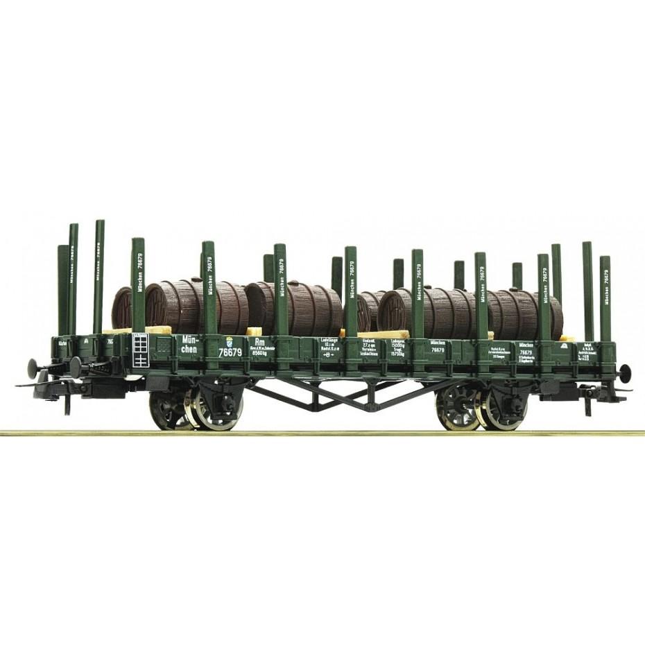 ROCO - 76774 - Stake wagon K.Bay.Sts.B. Ep I DC H0