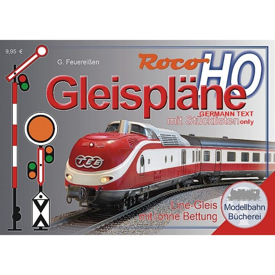 ROCO - 81394 - Roco Line Gleispl. H0 German Text