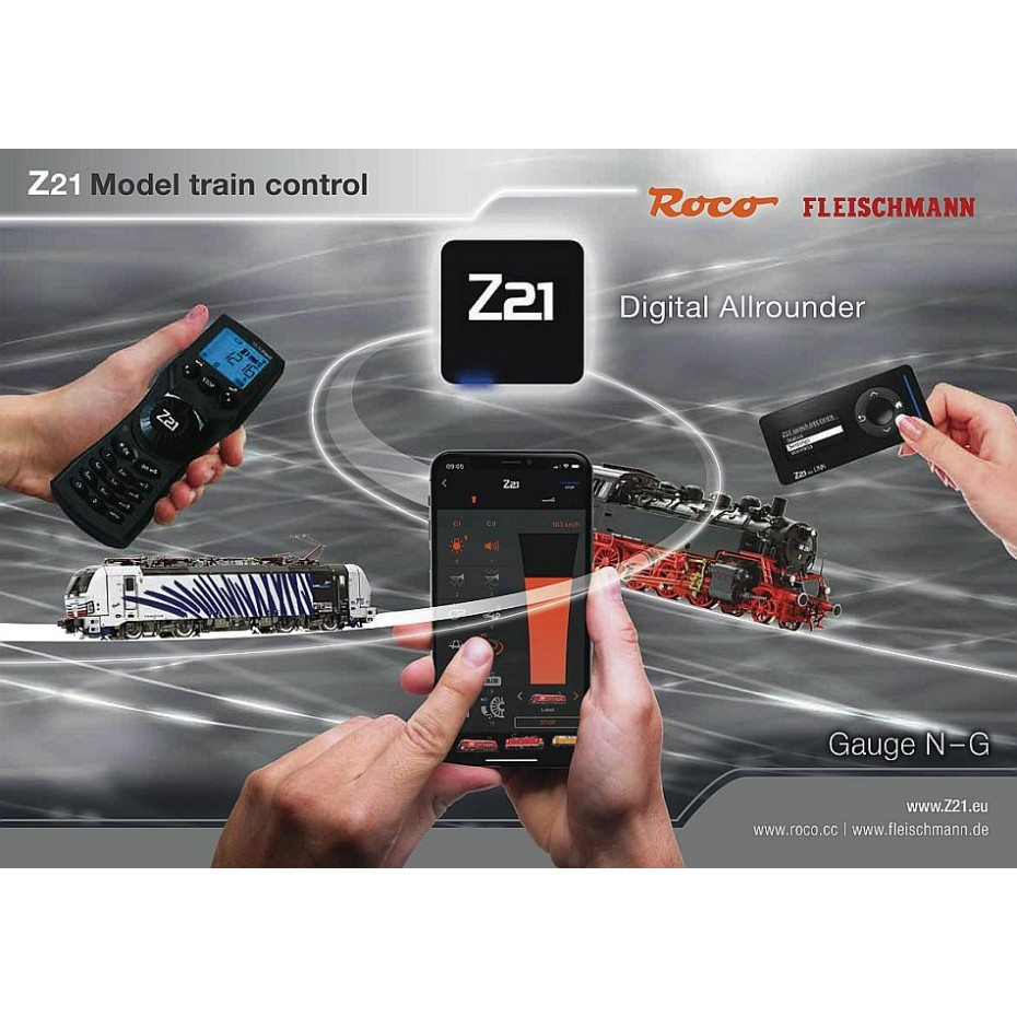 Z21- Z21 Model Train Control Digital all rounder 2021English