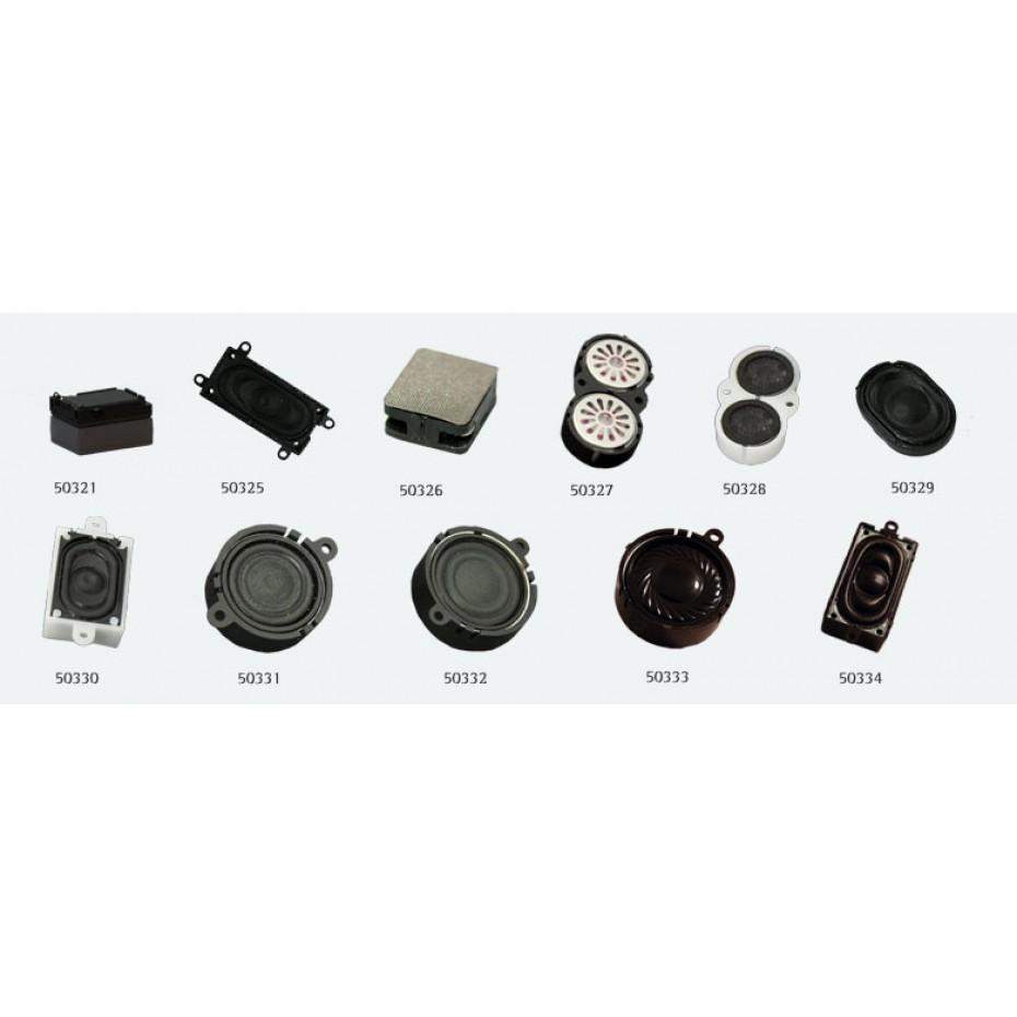 ESU - 50333 - Loudspeaker 28mm, round, 4 ohms, 1~2 Watt, with sound chamber