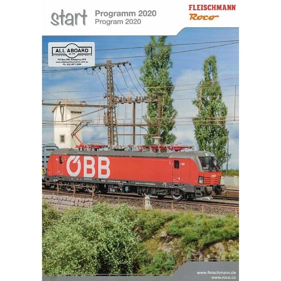 ROCO & FLEISCHMANN START Program 2020