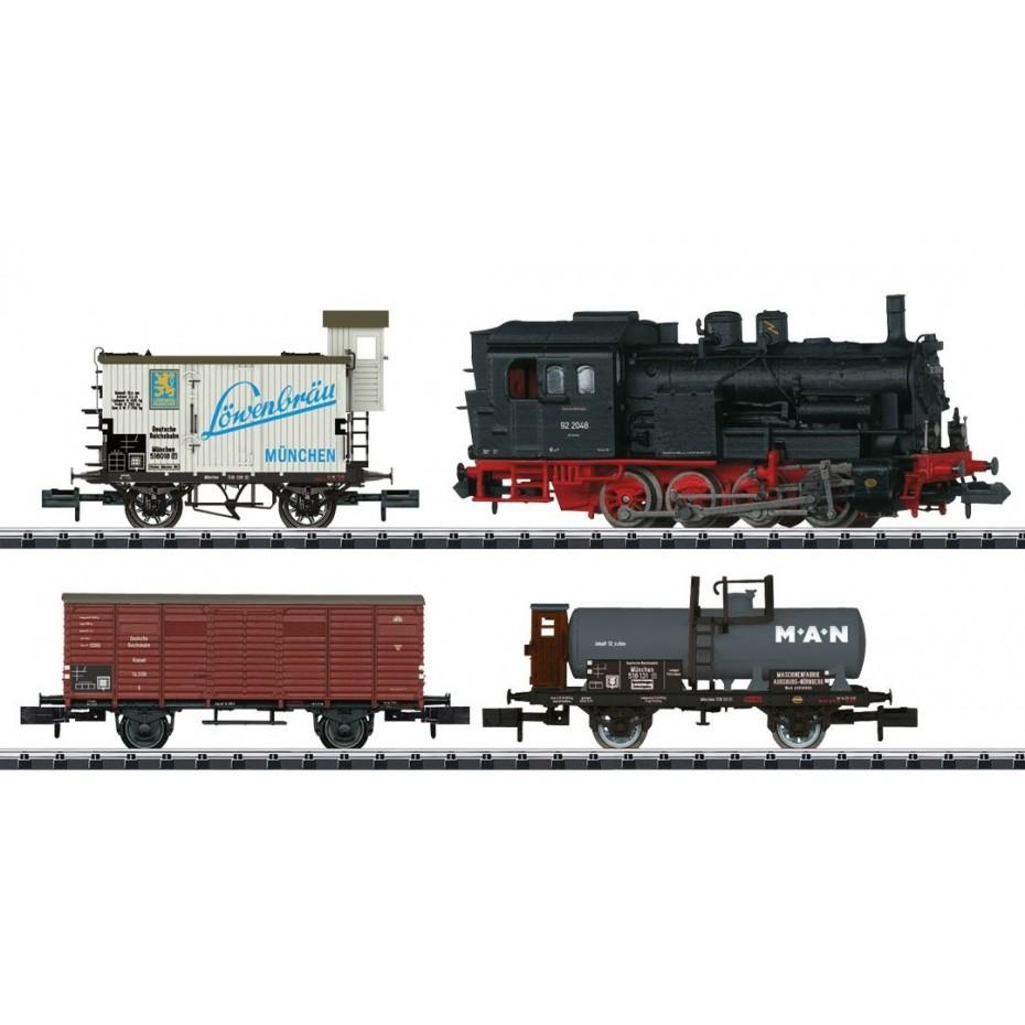 Minitrix - 11631 - Train Digital Set Freight train cars DRG N Gauge