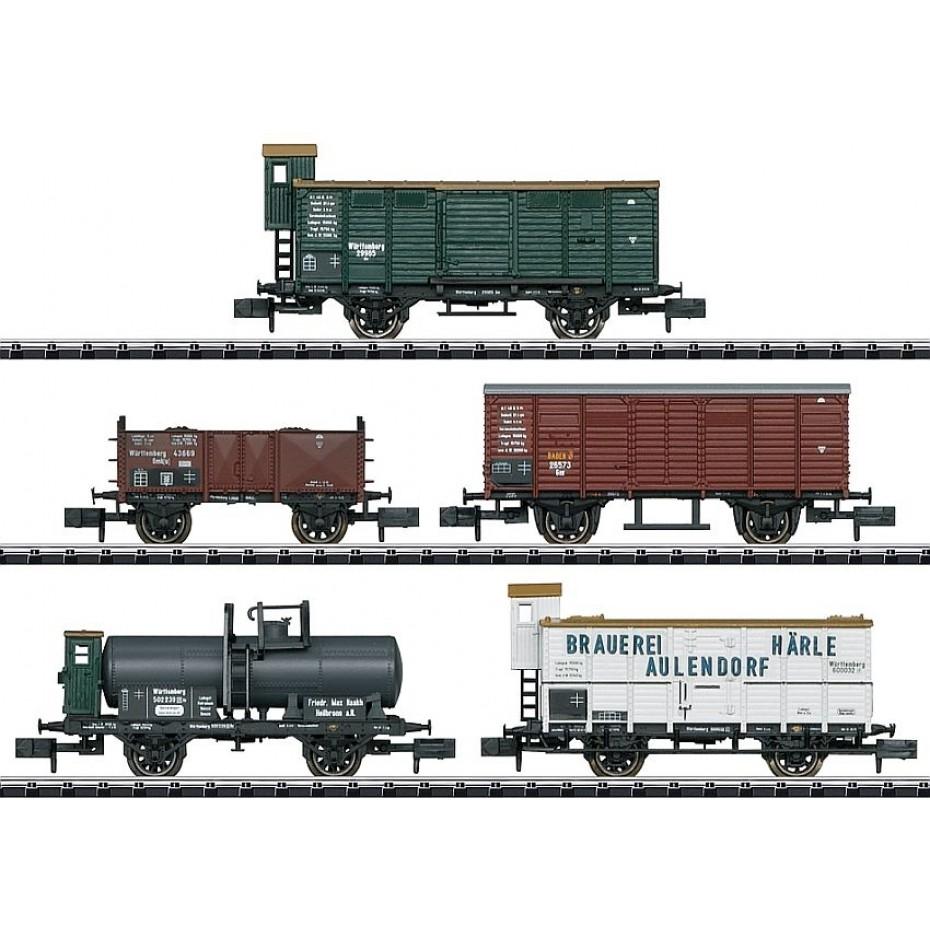 Trix - 15534 - Freight Car Set (N Scale)