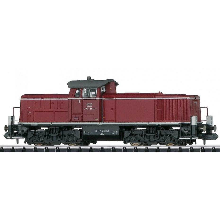 Trix - 16297 - DB cl 290 diesel locomotive Class 290 Diesel Locomotive (N Scale)