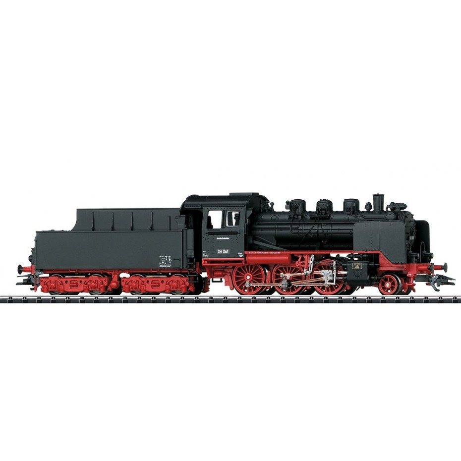 TRIX - 22433 - Steam loco BR 24 DB (HO scale)