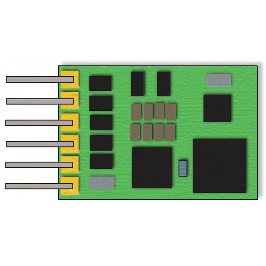 TRIX - 66841 - Decoder for 6 pin interface c (N SCALE)