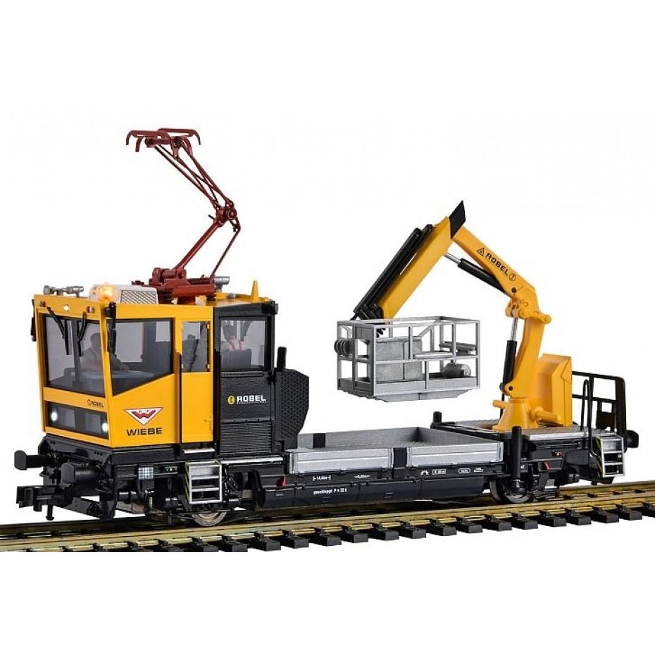 VIESSMANN - 2619 - HO 3 Rail  ROBEL Track Motor with Testing Panto - DCC 3 Rail HO Gauge