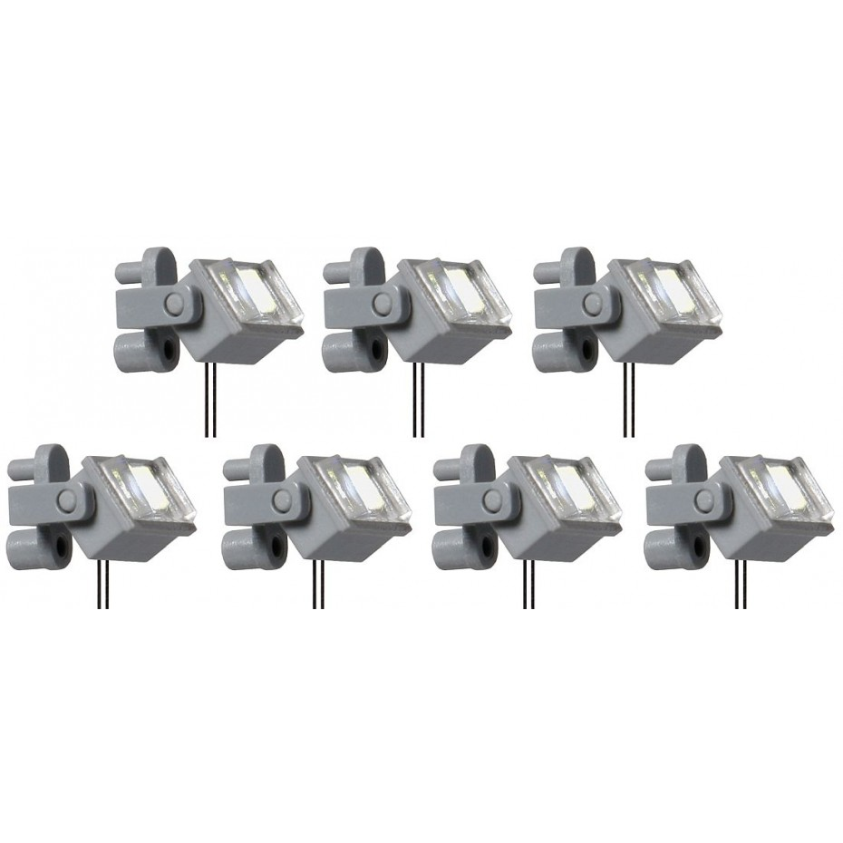 Viessmann - 6339 - H0 Ceiling spotlight, LED white, 7 pieces