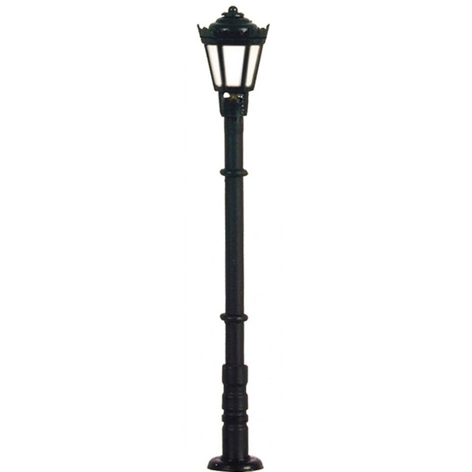 Viessmann - 6970 - TT Park lamp, black, LED warm-white