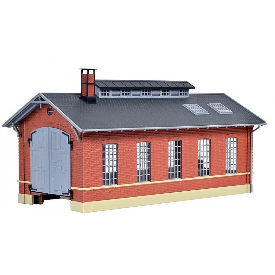 Kibri - 39307 - H0 Loco shed, single track