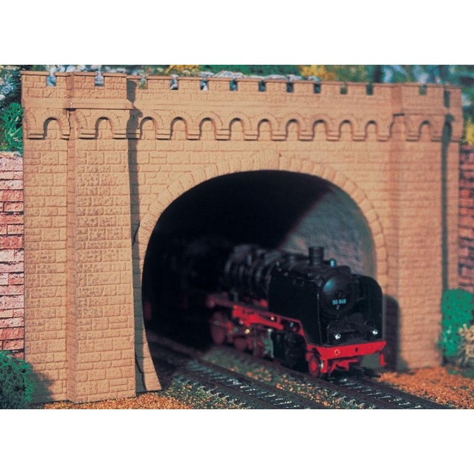 Vollmer - 42506 - H0 Tunnel portal Moseltal, double track, 2 pcs.