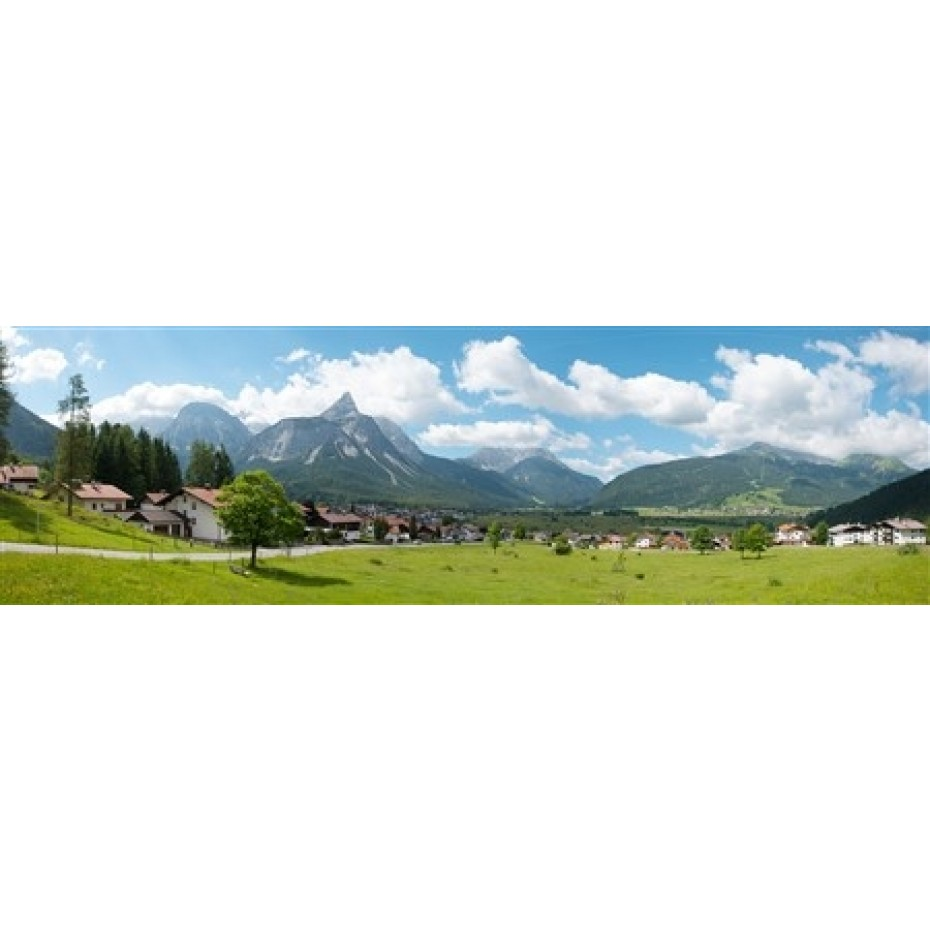 Vollmer - 46106 - Background setting Alpes, in 4 parts, 290 x 60 cm