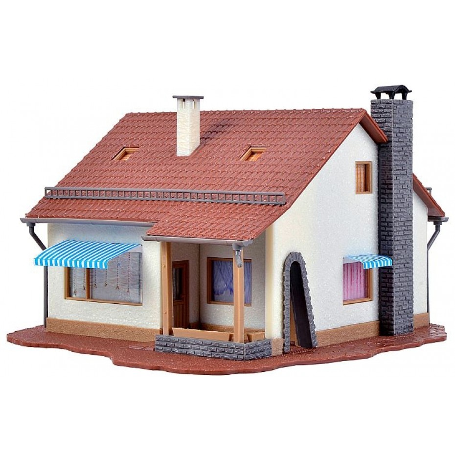 VOLLMER - 49213 - H0 Country house, start and save money (HO SCALE)