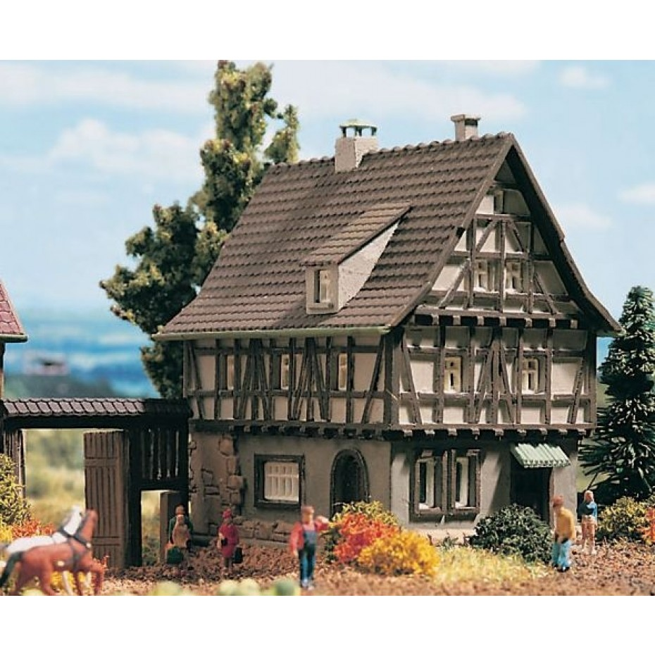 Vollmer - 49530 - Z Half-timbered house with yard gate