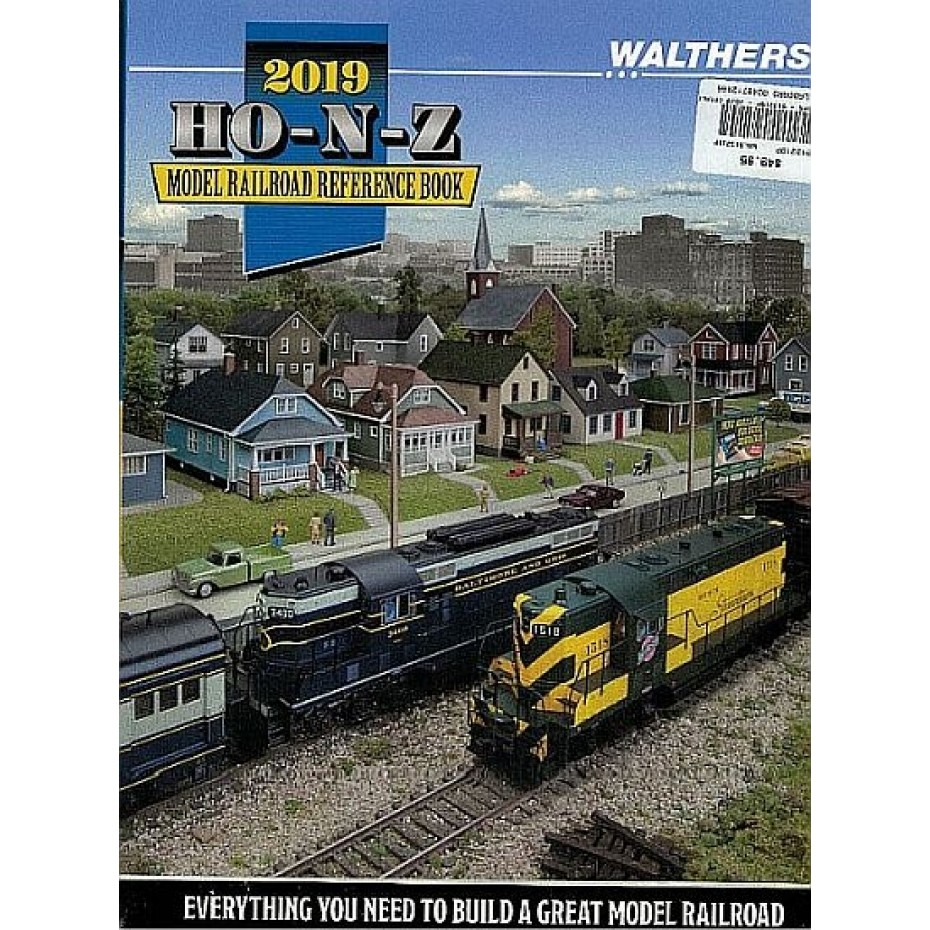 WALTHERS - 913219P - 2019 CATALOGUE HO N AND Z SCALE