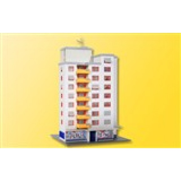 KIBRI - 37120 - N High-rise building with retail store (N SCALE)