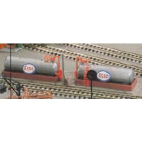 KIBRI - 37430 - N Diesel oil filling station (N SCALE)