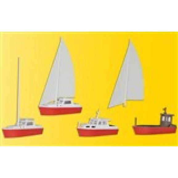 Kibri - 39160 - H0 Boat set