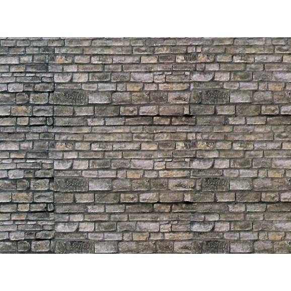 Vollmer - 47366 - N Wall plate brick, 25 x 12,5 cm,