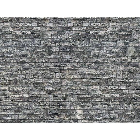 VOLLMER - 47367 - N Wall plate cut stone of cardboard, 25 x 12,5 cm