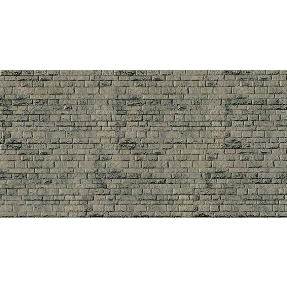 Vollmer - 47368 - N Wall plate cut stone natural of cardboard, 25 x 12,5 cm