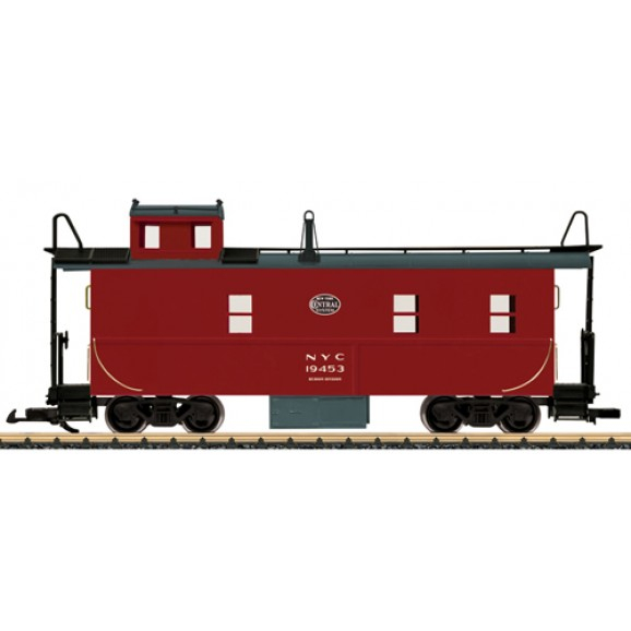 LGB - 42793 - Caboose undecorated (G scale)