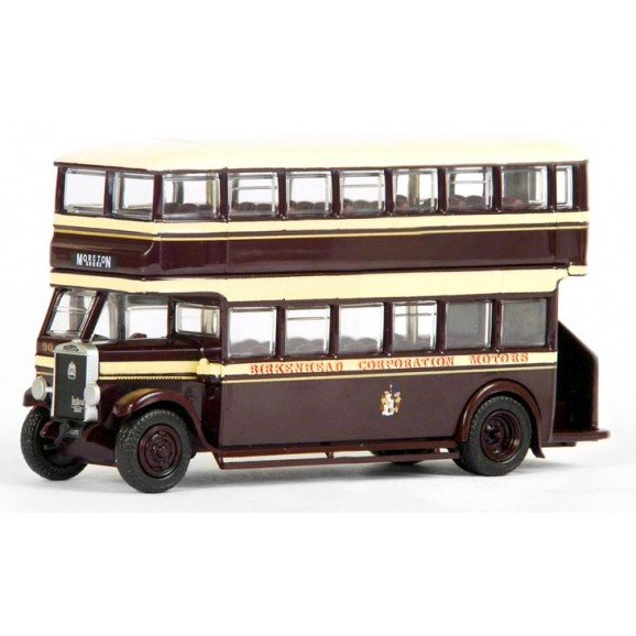 FIRST EDITION - E27202A - LEYLAND TD1 OPEN BACK BIRKENHEAD (OO SCALE)