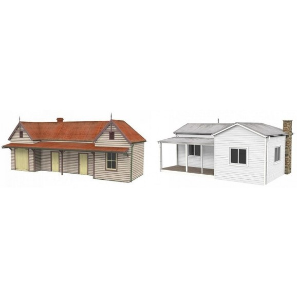 SCENECRAFT - 43-003 - AUSTRALIAN HOUSE AND STATION HO SCALE