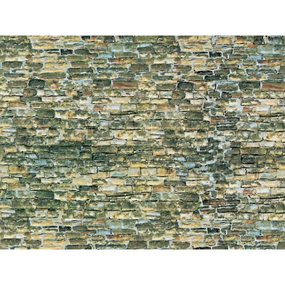 Vollmer - 47362 - N Wall plate natural stone of cardboard,25 x 12,5 cm