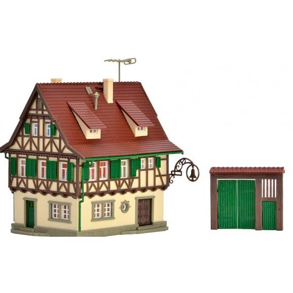 Vollmer - 47731 - N Inn Zur Glocke with lighting, functional kit
